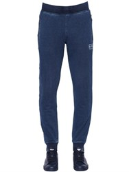 Emporio Armani Denim Effect Cotton Jogging Pants