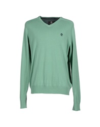 Timberland Sweaters Light Green