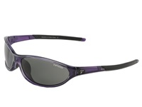 Tifosi Optics Alpe 2.0 Polarized Crystal Purple Smoke Polarized Lens Athletic Performance Sport Sunglasses Black