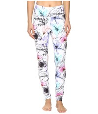 Obermeyer Anni Sport 75Wt Tights X Ray Floral Women's Workout Multi