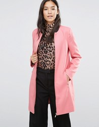 Soaked In Luxury Rose Katie Coat Dusty Berry Pink