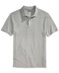 Armani Jeans Men's Dot Polo Gray