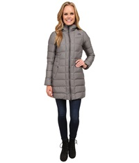 The North Face Gotham Parka Graphite Grey Heather Women's Coat Gray