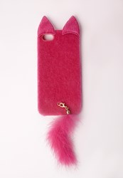 Missguided Cat Ears I Phone 5 Case Pink