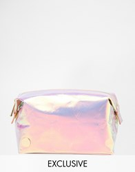 Mi Pac Mi Pac Asos Exclusive Hologram Make Up Bag Hologram Clear