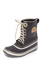 Sorel 1964 Premium Canvas Boots Black