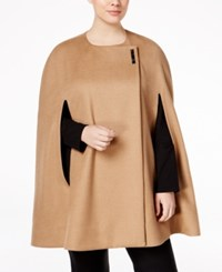 Alfani Plus Size Cape Only At Macy's Modern Camel