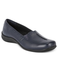 Easy Street Shoes Easy Street Purpose Flats Women's Shoes Navy