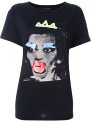Marc Jacobs 'Doodle' T Shirt Black