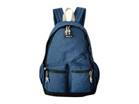 Rvca Crescent Backpack Navy Heather Backpack Bags Gray