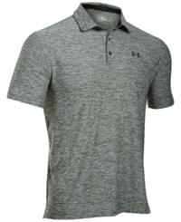 Under Armour Men's Special Edition Playoff Polo Combat Green Heather