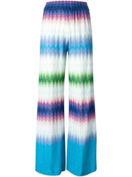 Missoni Zig Zag Wide Leg Trousers