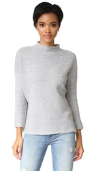 Knot Sisters Scotland Sweater Heather Grey