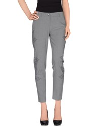 Roberta Scarpa Trousers Casual Trousers Women Grey