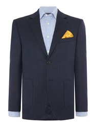 Howick Brookley Textured Sb2 Blazer Navy