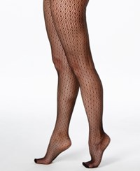 Dkny Spring Lace Tights Black