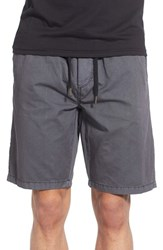 Men's Ezekiel 'Karma' Drawstring Shorts Black