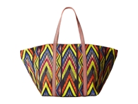 M Missoni Tribal Zig Zag Beach Bag