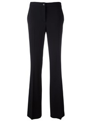Alberta Ferretti Flared Trousers Black