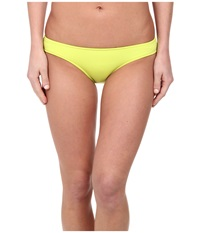 Seafolly Goddess Bow Back Brazilian Chartreuse Women's Swimwear Yellow