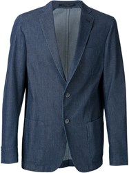Corneliani Denim Blazer Blue