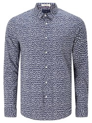 Scotch And Soda Long Sleeve All Over Print Shirt