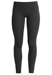 Gap New Gfast Tights Charcoal Heather Black