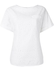 Osman Embroidered T Shirt White