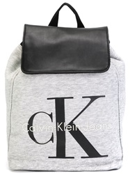 Calvin Klein Jeans 'Re Issue' Backpack Grey