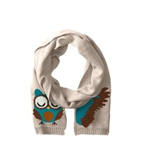 San Diego Hat Company Bss1414 Knit Animal Face Scarf Owl Scarves Brown