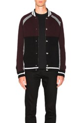 Givenchy Blouson Knit Jacket In Red
