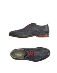Cafe'noir Cafenoir Footwear Lace Up Shoes Men Grey