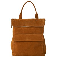 Whistles Verity Large Suede Backpack Rust