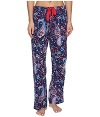 Jockey Flannel Long Pants Holiday Paisley Women's Pajama Multi