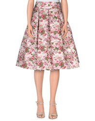Io Couture Skirts Knee Length Skirts Women Pink