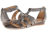 Naturalizer Jansin Dark Pewter Metallic Women's Dress Sandals