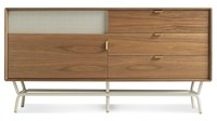 Blu Dot Dang 1 Door 3 Drawer Console