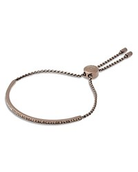 Michael Kors Jeweled Chain Slider Bracelet Rose Gold