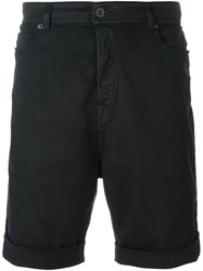 Diesel Black Gold Denim Shorts