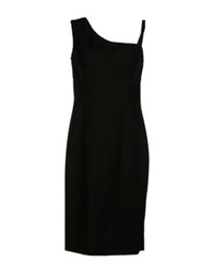 Gio' Guerreri Knee Length Dresses Black