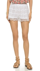 Candela Zuri Shorts White