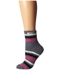 Life Is Good Lightweight Snuggle Crew Smoky Grey Women's Crew Cut Socks Shoes Gray