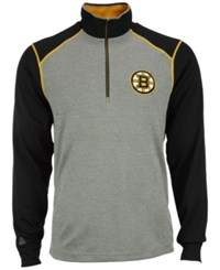 Antigua Men's Boston Bruins Breakdown Quarter Zip Pullover