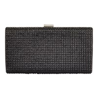 Jacques Vert Embellished Clutch Bag Black
