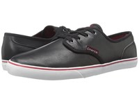 Emerica Wino Cruiser Black White Burgundy Men's Skate Shoes
