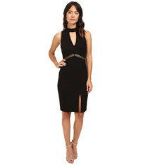 Adelyn Rae Sleeveless Ponte Knit Bodycon Dress Black Women's Dress
