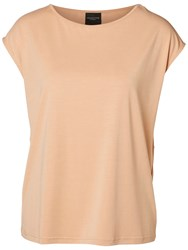 Selected Femme Irina Back Detail Top Dusty Coral