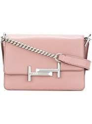 Tod's 'Wamu' Shoulder Bag Pink And Purple