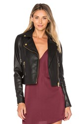 Muubaa Harrier Biker Jacket Black