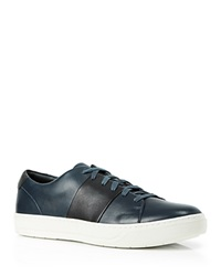 Vince Armstrong Color Block Sneakers Black Navy